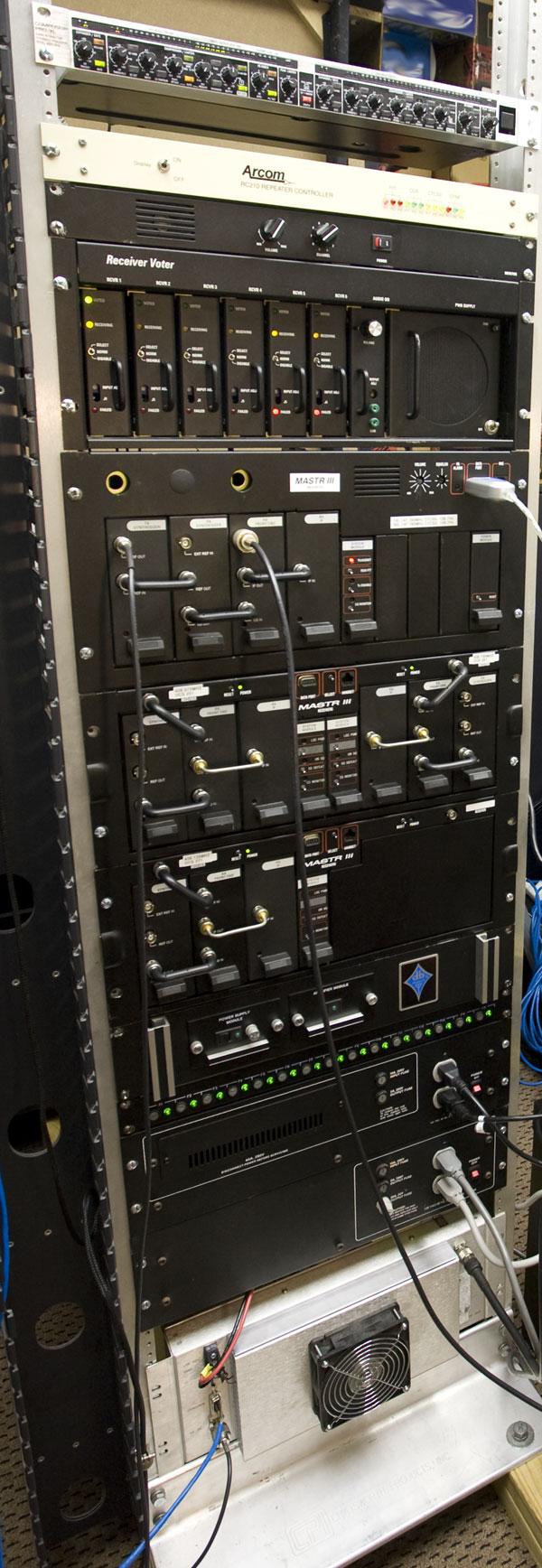 VHF Mastr III repeater