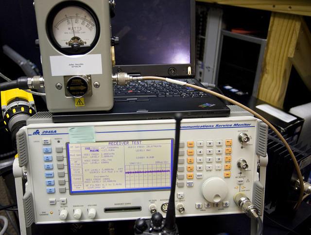 Mastr III TX test